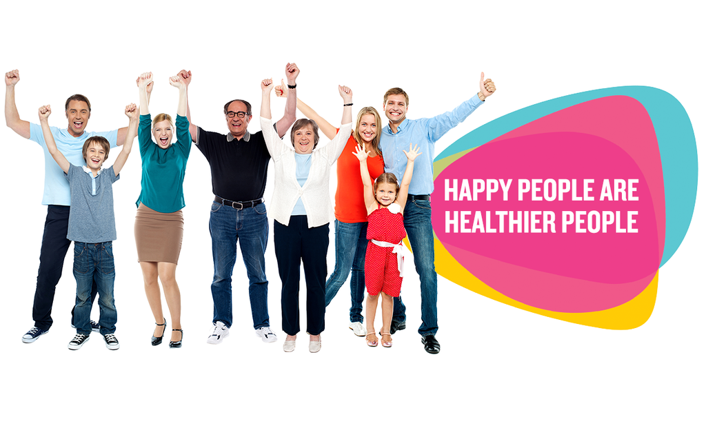 Happy People are Healthier People