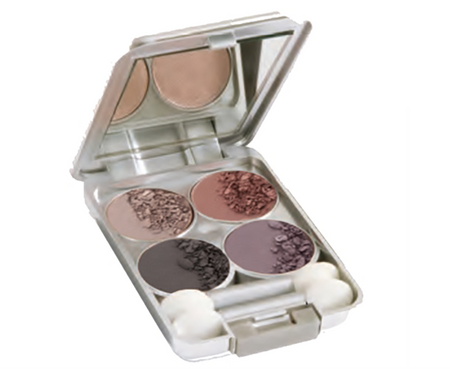 Quad Eyeshadow Color Palette - Paris Cafe