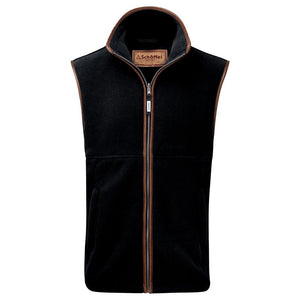 Schoffel Men's Oakham Fleece Gilet Gunmetal - RedMillsStore.ie