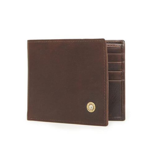 Hicks & Hide Rifle Wallet Brown Leather - RedMillsStore.ie