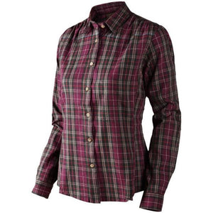 Seeland Womens Pilton Shirt-Raisin Check