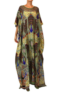 Printed Kaftan Dress HM