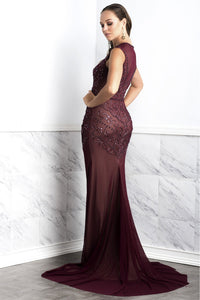 Burgundy Cocktail Dress. Prom Dresses. Crepe spandex caviar gowns. Long dress. Burgundy Designer Dress. Get free USA Ground shipping and International shipping from $39.99. Find long tight Burgundy dress and Burgundy fitted dress perfect evening gown. Latest Miami New York dresses and couture dresses and gowns for sale