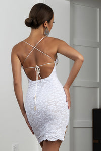 White Gold handpainted caviar cocktail dress. Stretch Lace dresses near miami. Cocktail dresses for sale. Handmade shape short dresses for party. White Gold Cocktail party dresses for woman.