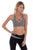 Star Crossed Studded Sports BRA Grey - Sportwear