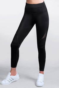 Black LEGGINGS Skywalker Sportwear. Lasercut detail in the front and back. Contrasting leopard jacquard and mesh panels. Nylon/spandex. Machine wash. Imported. Best women fashion designer brands. Dresses, sportwear, shirts, skirts, pants, belts, handgabs and accesories. Miami fasion online store. Staysafe. Shop at home