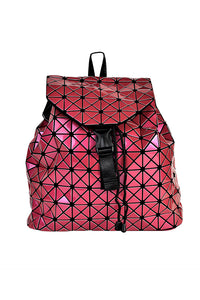 Women's Hot Pink Hologram Backpack Bag. Handbags & Accesories. Perfect Backpack Bag to cover your needs. Perfect for everyday, the school, the beach, the gym or a night out. The prismatic shape, makes them easy to fold and store in its dust bag. Miami woman fashion online store. Best women fashion designer brands.