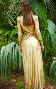 Gold Royal dress