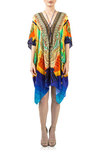 Short Caftan Top Tunic Style