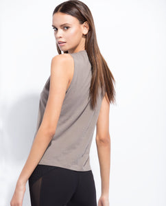 The Wavy Tank Taupe