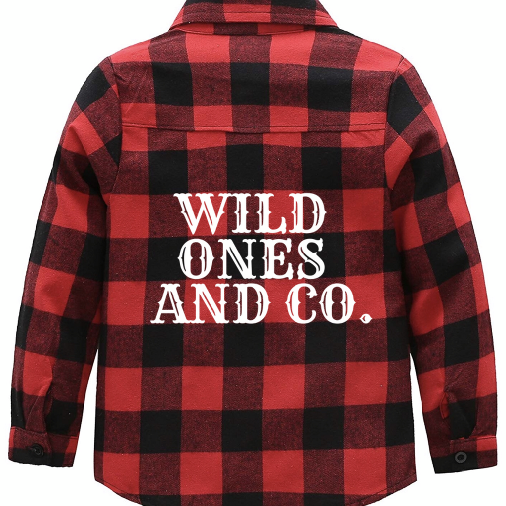 Wild Ones And Co. Plaid shirt - WILD ONES And Co.