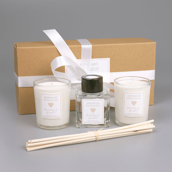Gift set - 50ml Diffuser & 2 9cl Candles