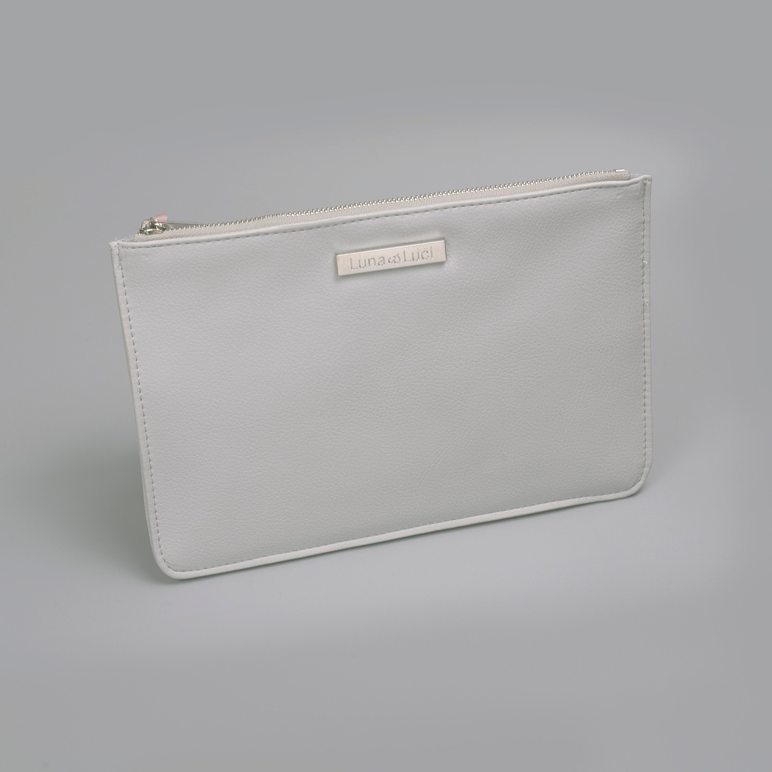 Soft Grey Pouch