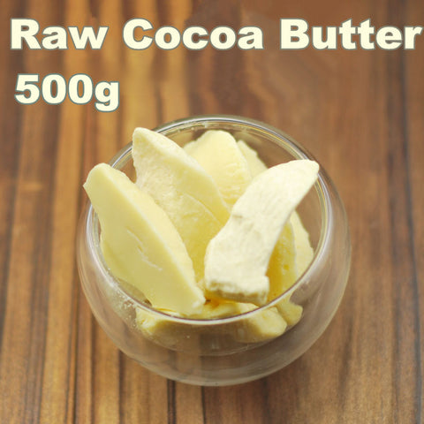 HMM-ORGANIC Raw Cocoa Butter Base Oil Exquisite 500g