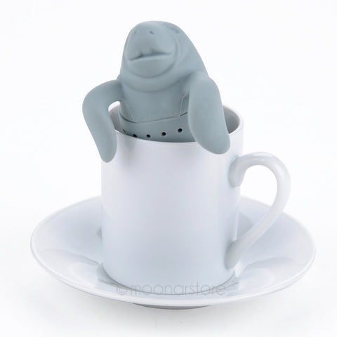 Manatee-Shaped Tea Infuser