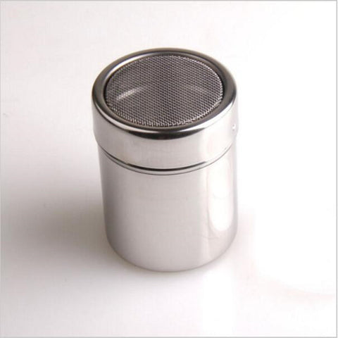 Stainless Chocolate Shaker Cocoa Flour