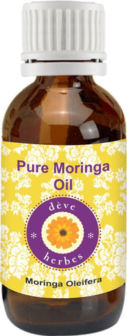 HMM-Pure Moringa Oil (Moringa Oleifera) 100% Natural Therapeutic Grade New