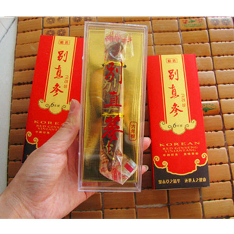 6 Years old Korean Red Ginseng Root