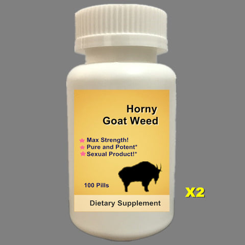 Goat Weed with Maca, Saw Palmetto, Ginseng