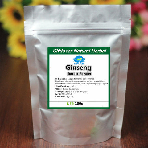 Pure Korean Ginseng Extract Powder