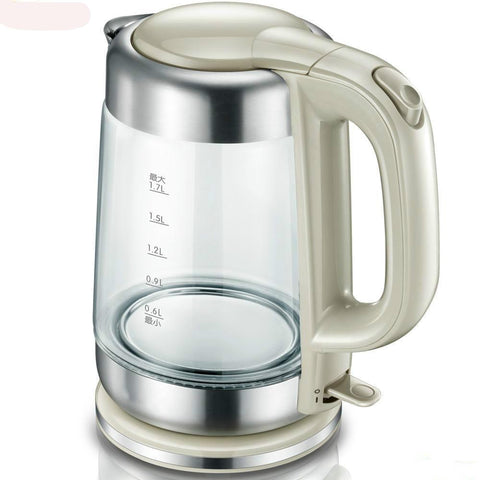 HMM-Electric kettle automatically without electricity Glass Safety Auto-Off Function