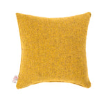 Harris Tweed/Pure Wool/Yellow/Gorse/Mustard/Herringbone/Outer Hebrides/Scatter/Cushion/