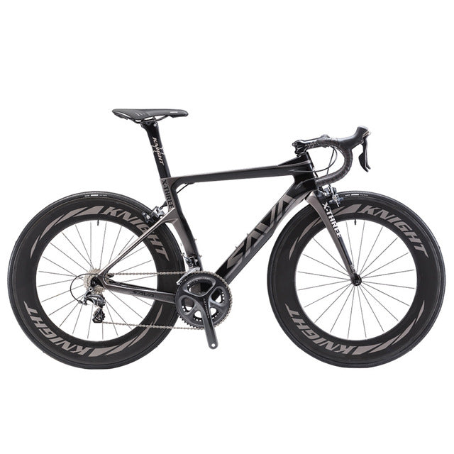 Road Bike T800 Carbon Fiber Frame Cycling  Bicycle