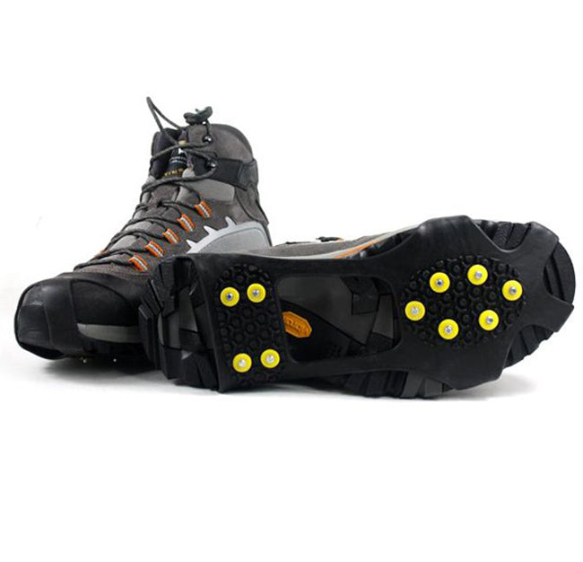 Camping Climb Ice Crampon Ice Walking Shoes