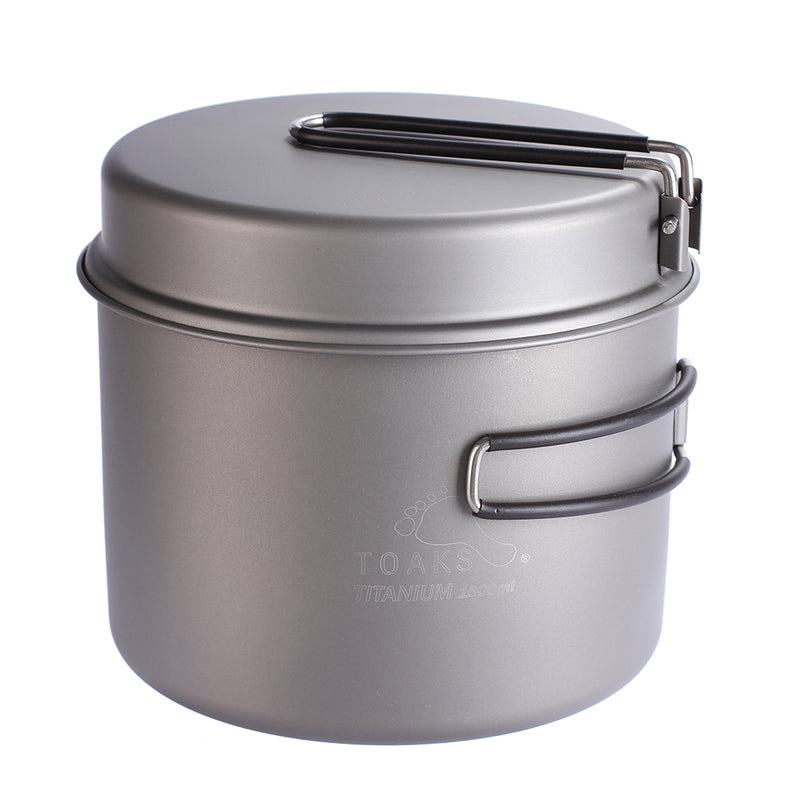Outdoor Camping Titanium Pot