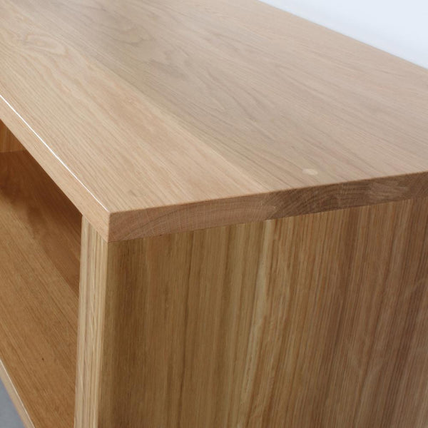 Solid oak minimalist furniture