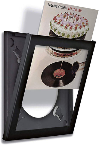 Art Vinyl Play & Display Record Frame (Black)