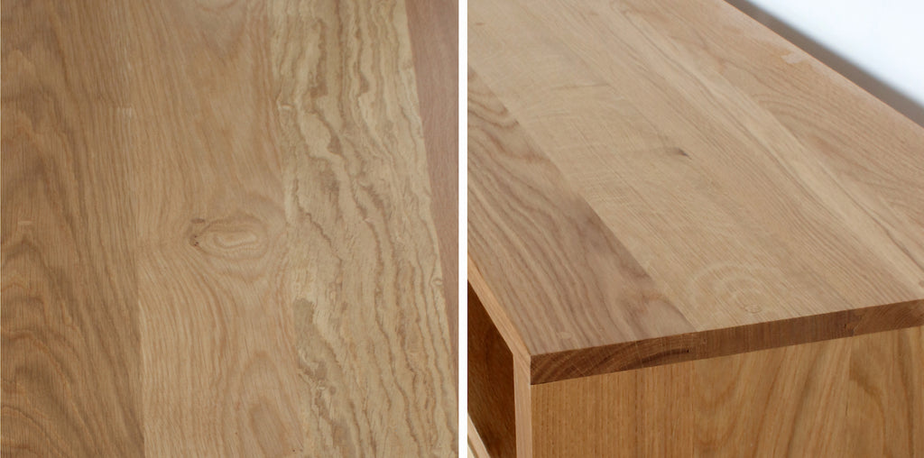 Oak wood furniture colour