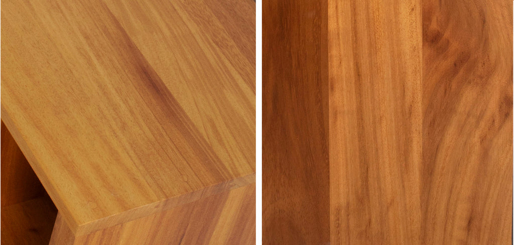 Iroko furniture colour and grain like teak