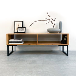 Henley TV Stand On Minimalist Square Legs
