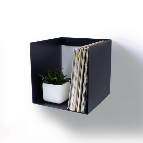Vinyl Storage Cube Shelf