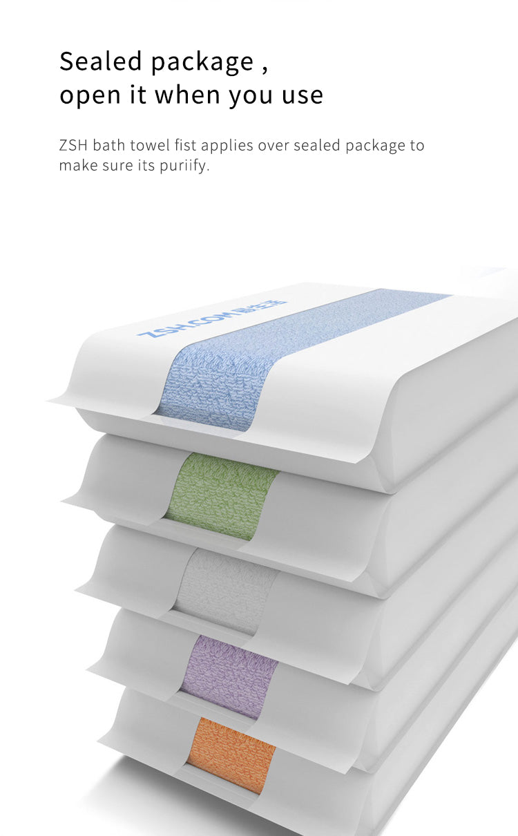 Xiaomi ZSH Bath Towel 100% Cotton Strong Water Absorption Polyegiene Antibacterial  Bathing Towels - Latest Living