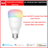 Yeelight Smart LED Color RGB Light Bulb Wi-Fi Tunable Dimmable E26 E27