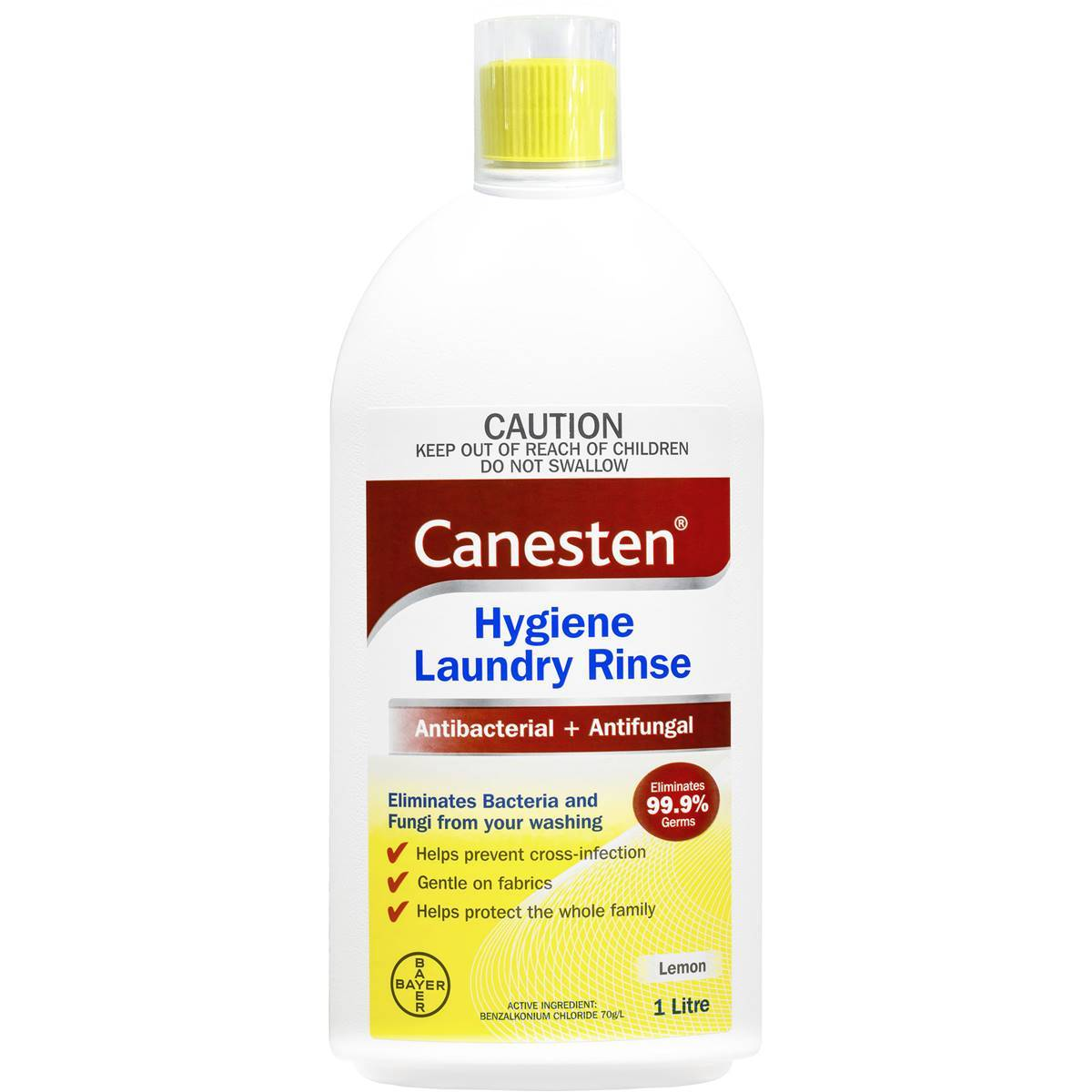 Canesten 1L Hygiene Laundry Rinse - Latest Living