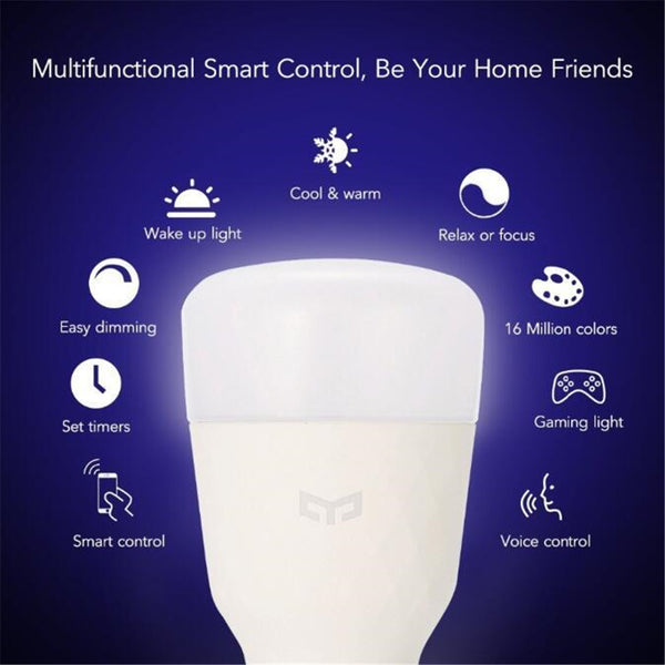 Yeelight Smart Control LED WiFi Dimmable White Bulb 1S - Latest Living