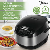 Midea MB-FS5077 10 Cup Multi Function Rice Cooker 900W - Latest Living