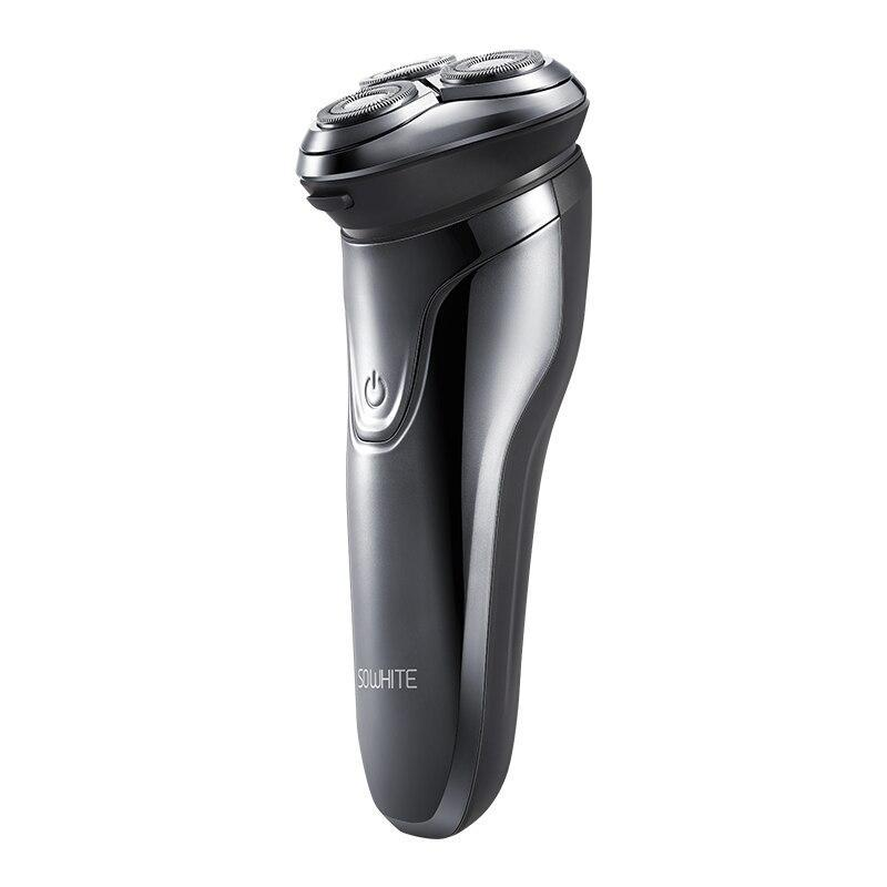 XIAOMI SOOCAS SO WHITE ES3 USB Rechargeable Electric Shaver 3 head Electric Razor - Latest Living