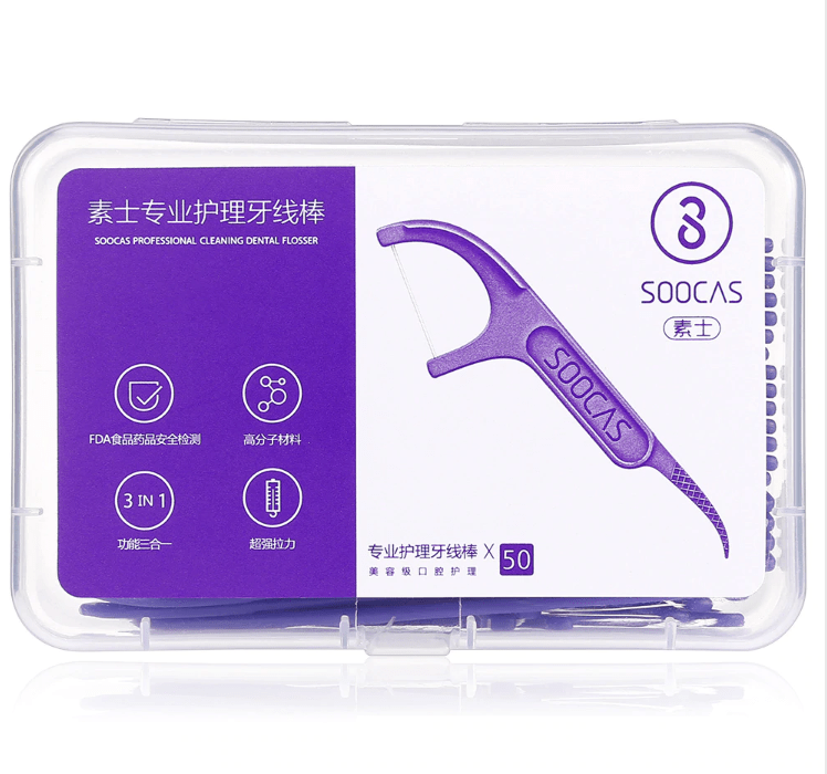 Soocas Professional Cleaning Dental Floss 50pcs - Latest Living