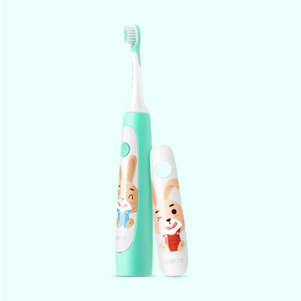 Soocas C1 USB wireless charging ultrasonic toothbrush for children and kid - Latest Living