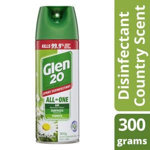 Glen 20 Disinfectant Air Freshener Spray Country Scent
