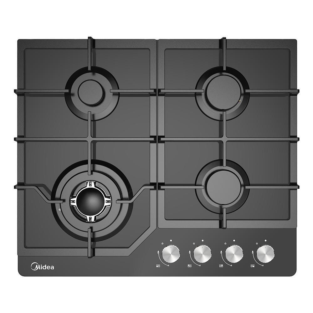 Midea MCG601GBL 60cm Gas Glass Cooktop - Latest Living