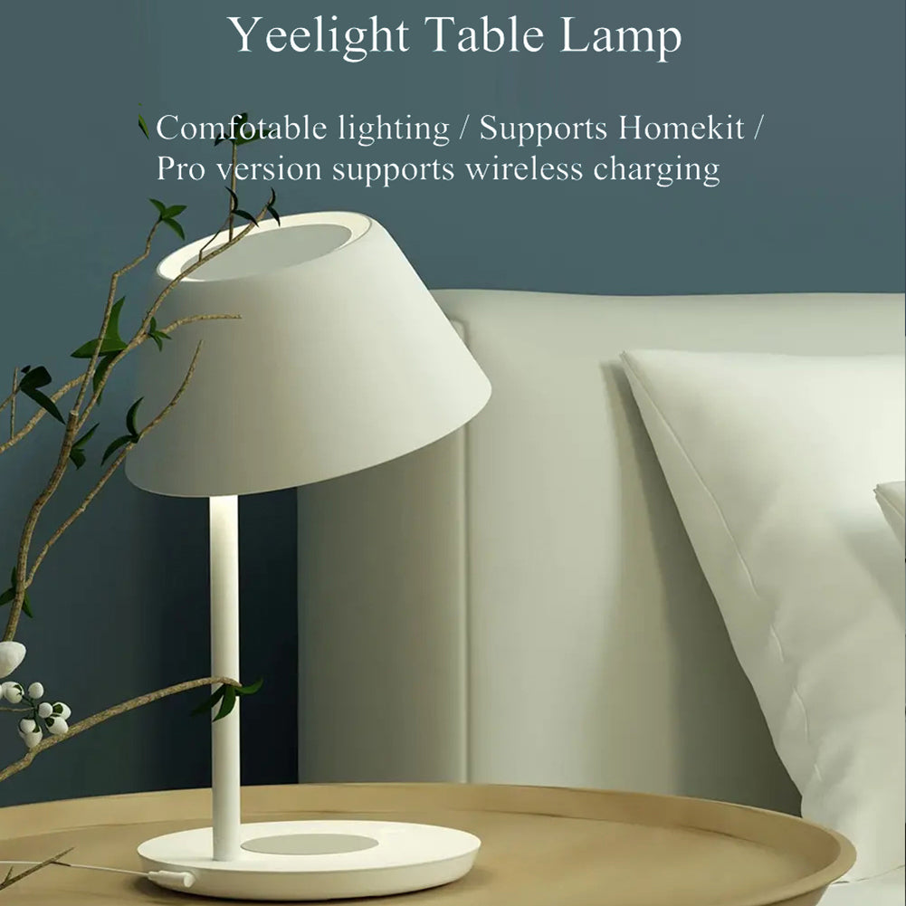 Yeelight Staria Pro Bedside Lamp Wireless Fast Charging - Latest Living