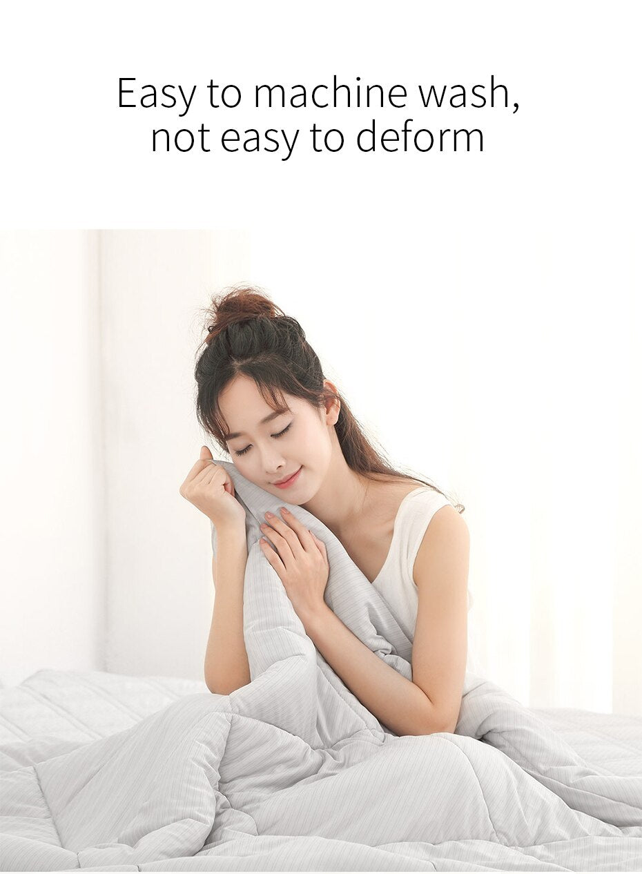 XIAOMI 8H Antibacterial Washable Summer Cooling Cotton Quilt - Latest Living