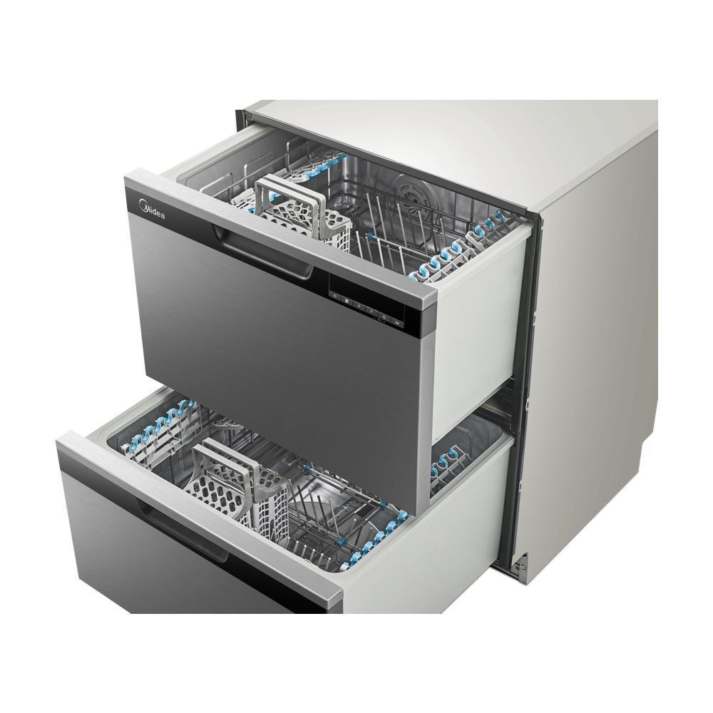 Midea MDWDDSS Double Drawer Dishwasher - Latest Living