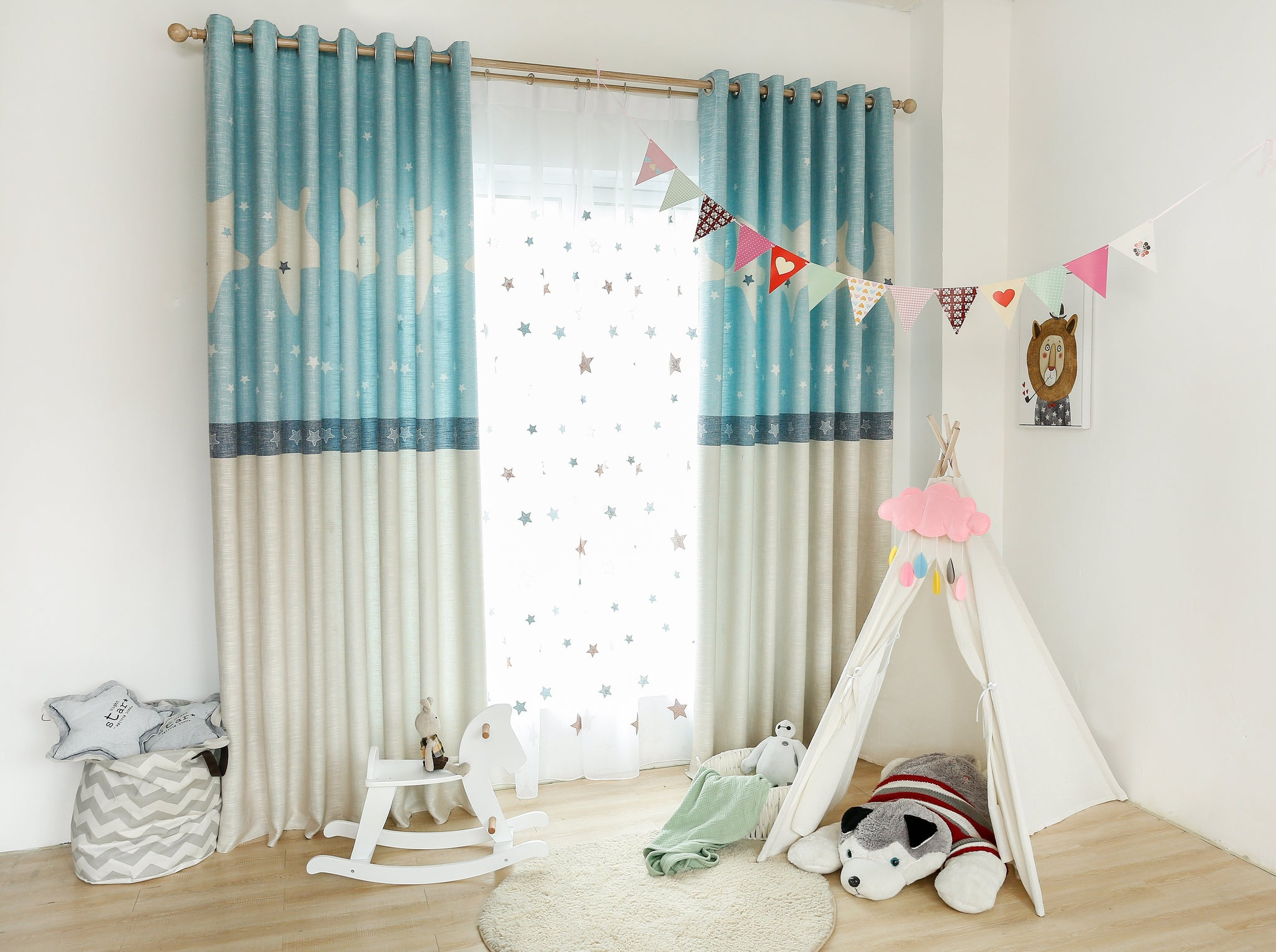 Kids Star Dream Curtain - Latest Living