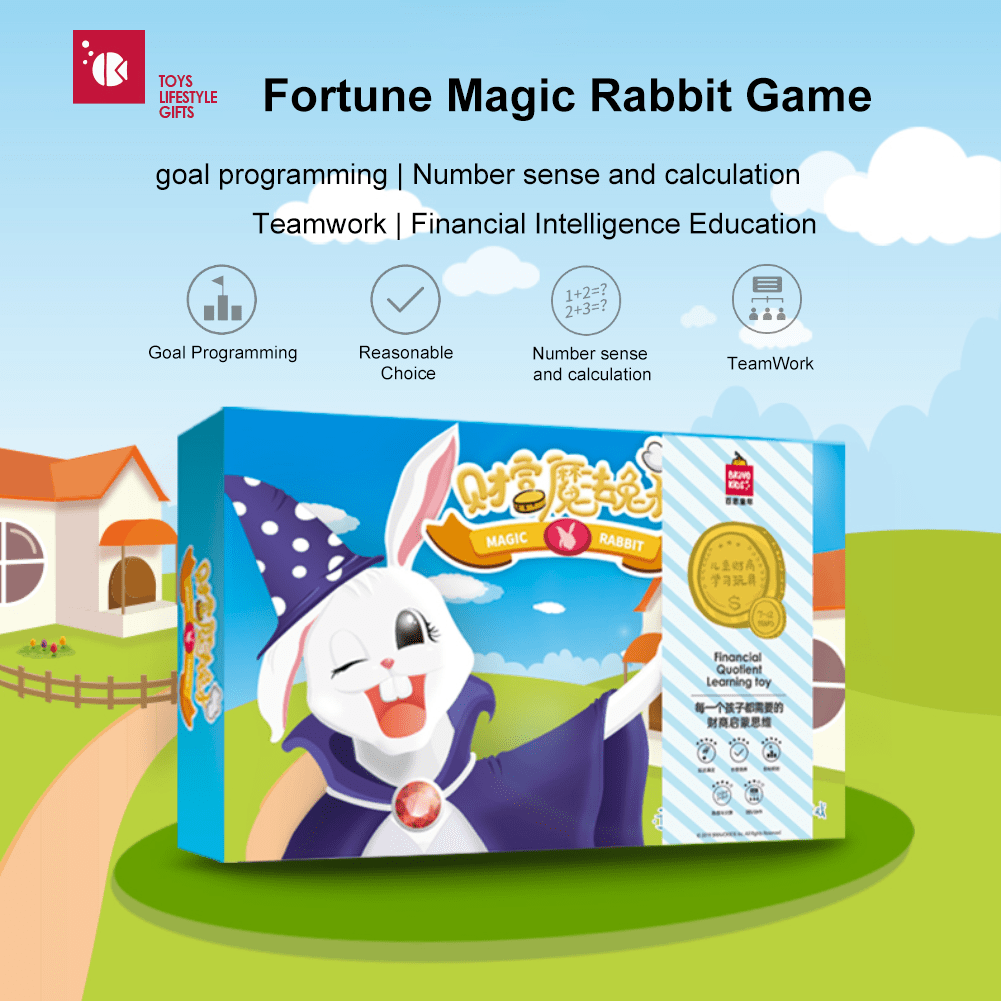 Bravokids Fortune Magic Rabbit Game - Latest Living